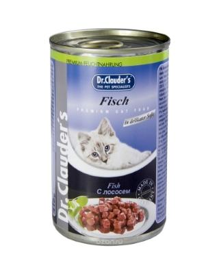 Dr. Clauder`s консервы для кошек (лосось)