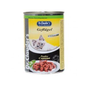 Dr.Clauder`s консервы для кошек (кура)