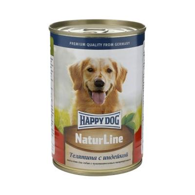 Happy Dog с телятиной и индейкой