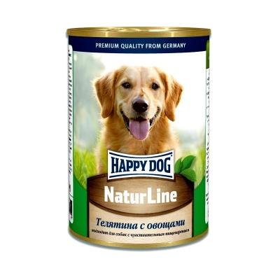 Happy Dog с телятиной и овощами