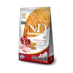 FARMINA Natural & Delicious Low Grain PUPPY MEDIUM
