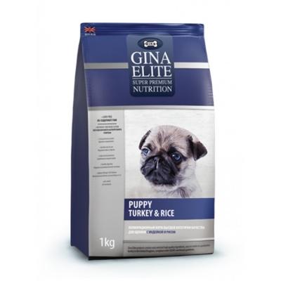 GINA Puppy Elite Turkey&Rice (1 кг)