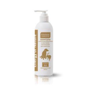Шампунь для животных с маточным молочком и эластином питательный (350 мл)