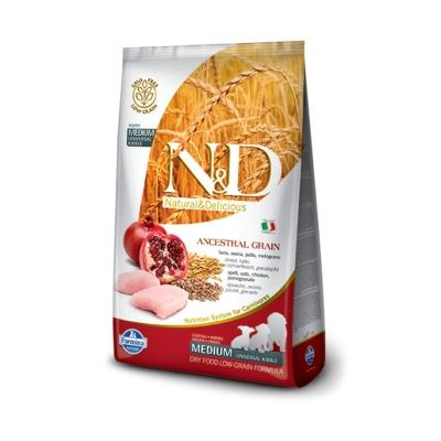 FARMINA Natural & Delicious Low Grain PUPPY MEDIUM (12 кг)