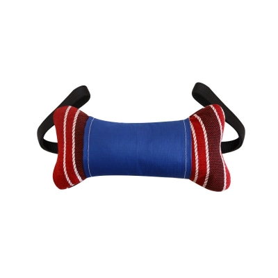 Игрушка для собак кость с ручками и бутылкой (30 см)