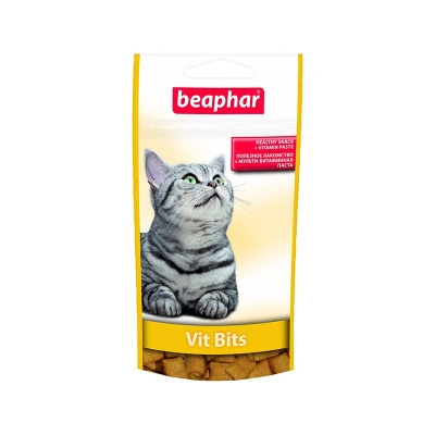 Beaphar лакомство для кошек Витбитс с витаминами (35 г)