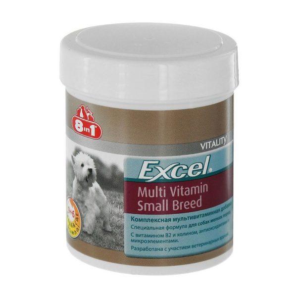 Витамины 8 In 1 Эксель Мультивитамины Для Собак Мелких Пород (70 таб.)