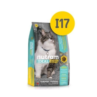 I17 Nutram Ideal Solution Support Indoor Shedding Cat Food - Сухой Корм Для Привередливых Кошек Живущих В Помещении
