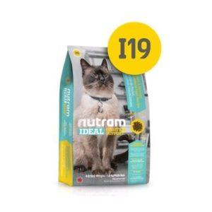 I19 Nutram Ideal Solution Support Sensitive Cat Food - Сухой Корм Для Кошек С Чувствительным Пищеварением, Кожей И Шерстью