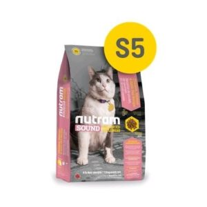 S5 Nutram Sound Balanced Wellness Adult Cat Food - Сухой Корм Для Взрослых Кошек