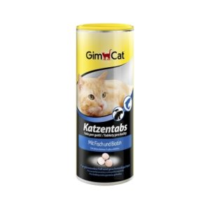 Витамины Для Кошек Gimpet с Рыбой и Биотином (710 таб.)