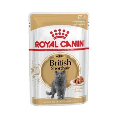 Консервы Royal Canin British Shorthair Для Британских Короткошерстных Кошек (в соусе)