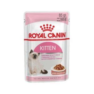 Консервы Royal Canin Kitten Instinctive Для Котят (в соусе) (85 г)